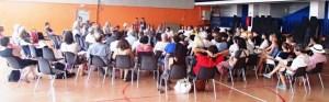 Plenaria do primeiro dia do Encontro em Cerbère.